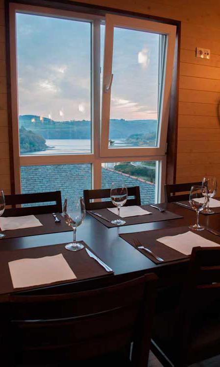 Vista río desde el Restaurante